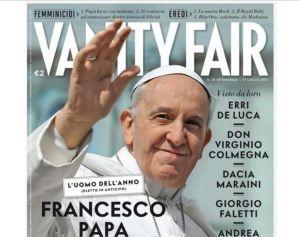 """Vanity Fair elige al Papa Francisco """"Hombre del Año"""""""