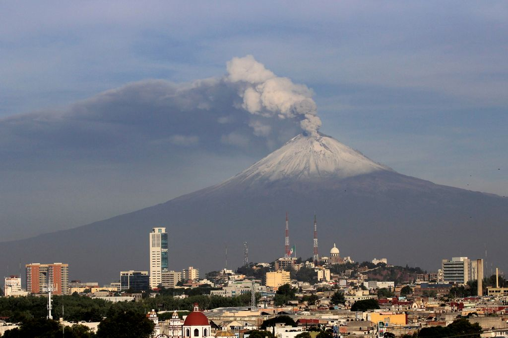 Laderas del Popocatépetl presentan daños