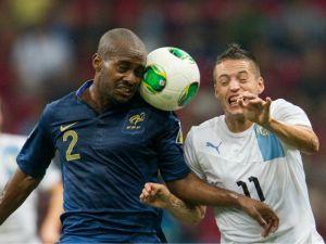 Francia y Uruguay siguen 0-0, juegan el segundo tiempo