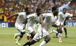 Ghana vence 2-0 a Irak al primer tiempo en Estambul