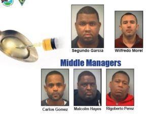 Nueva Jersey arresta a 15 por tráfico de heroína