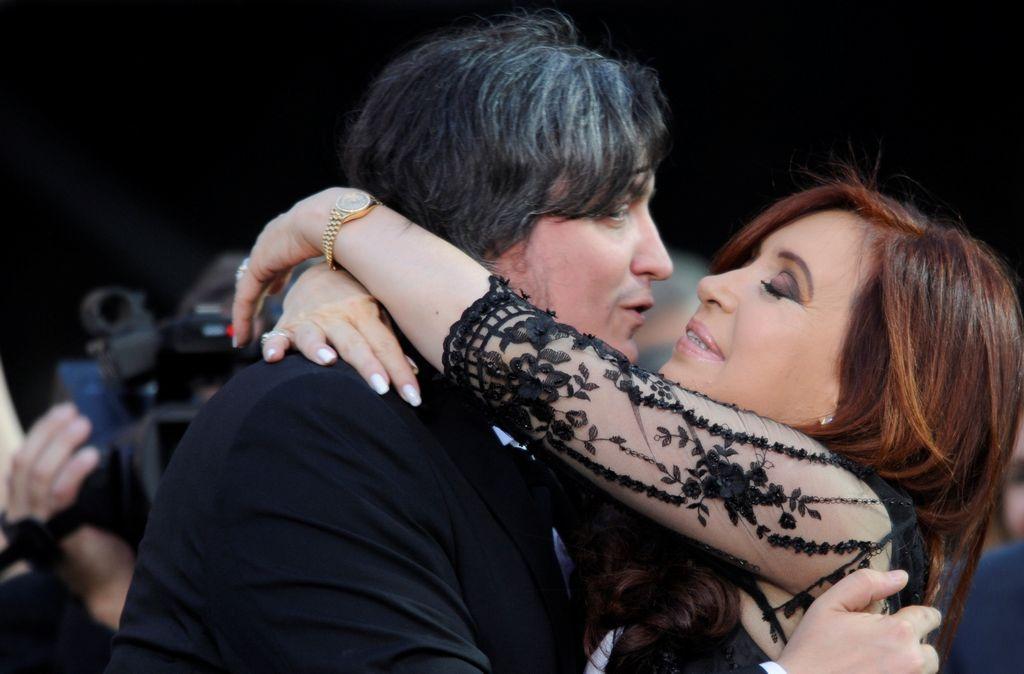 Presidenta Cristina Fernández se convierte en abuela