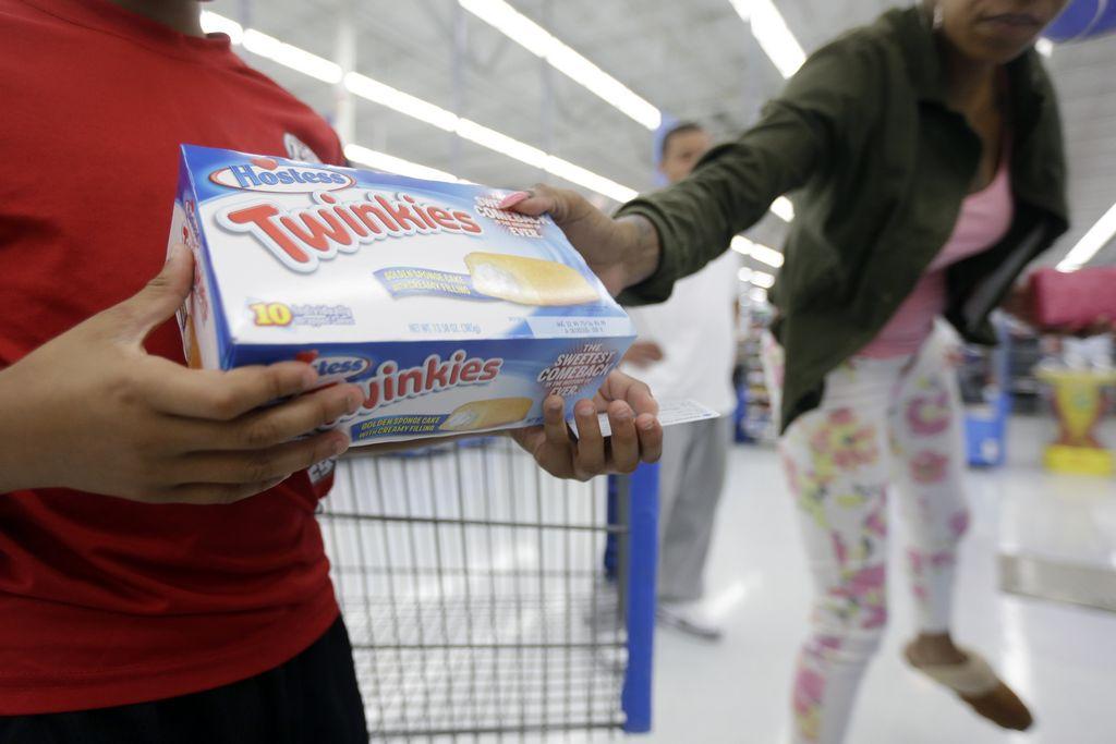 Twinkies regresan más pequeños y con menos calorías