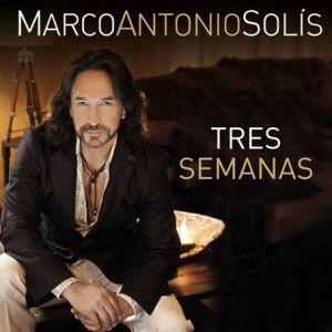 """Marco Antonio Solís ya se escucha con """"Tres Semanas"""""""