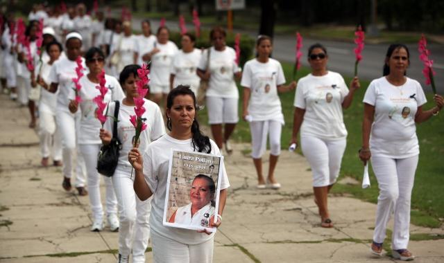 Damas de Blanco denuncian represión