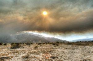 Incendio forestal obliga evacuaciones en Riverside