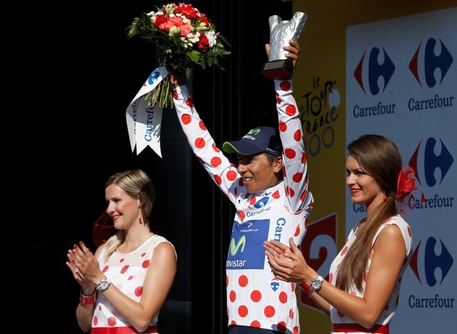 Quintana hace historia en el Tour de Francia