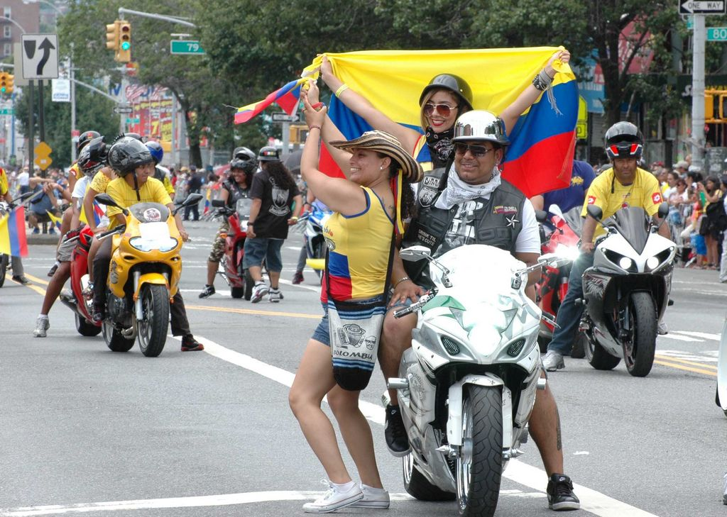Colombianos celebran su independencia en NYC