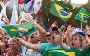 Bergoglio vuelve a América Latina ahora como Papa (fotos)