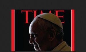 """Polémica por """"cuernos"""" del Papa en revista Time"""