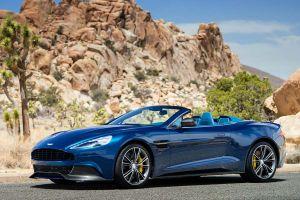 Aston Martin presenta su Vanquish Volante