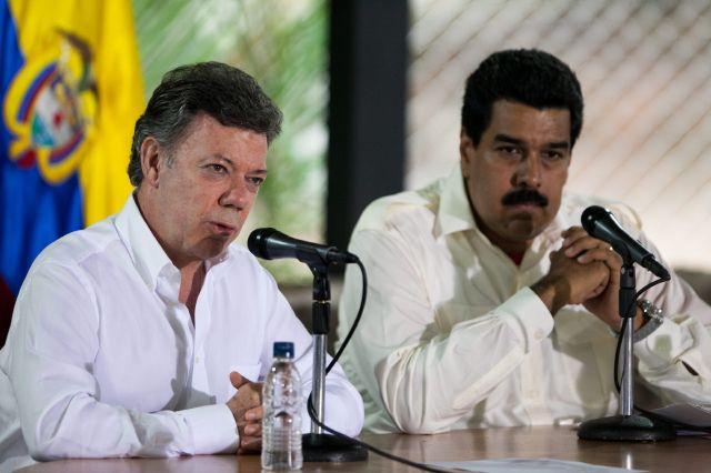 Maduro y Santos buscan acercamiento