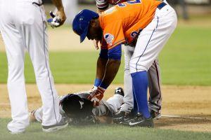 Hudson domina a los Mets y luego se fractura (Videos)