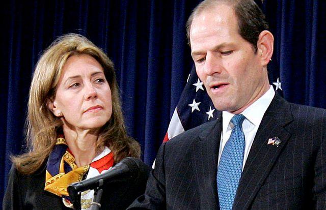 Esposa de Eliot Spitzer le pediría el divorcio