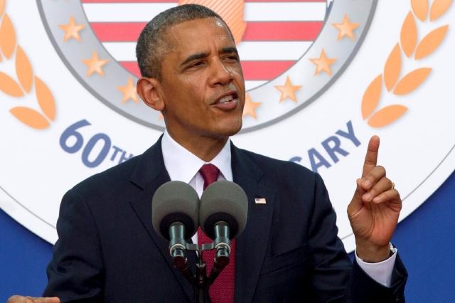 El presidente Barack Obama habla en el 60 aniversario del fin de la Guerra de Corea.