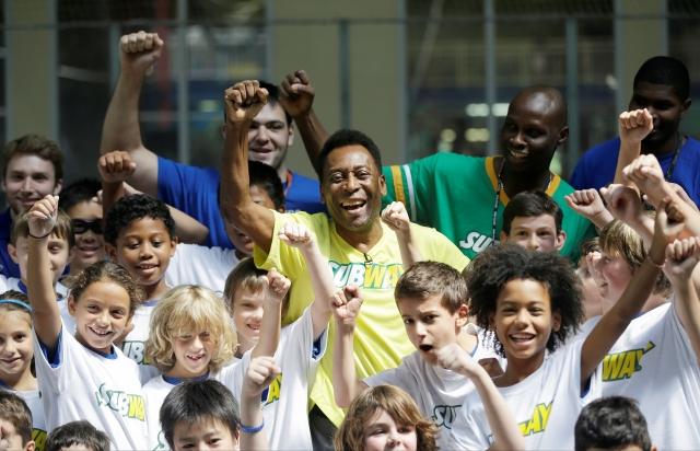 Pelé apuesta por Brasil