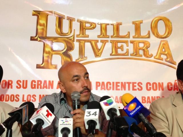 Lupillo Rivera ofrecerá concierto sin cobrar, en apoyo a una fundación de víctimas de cáncer.