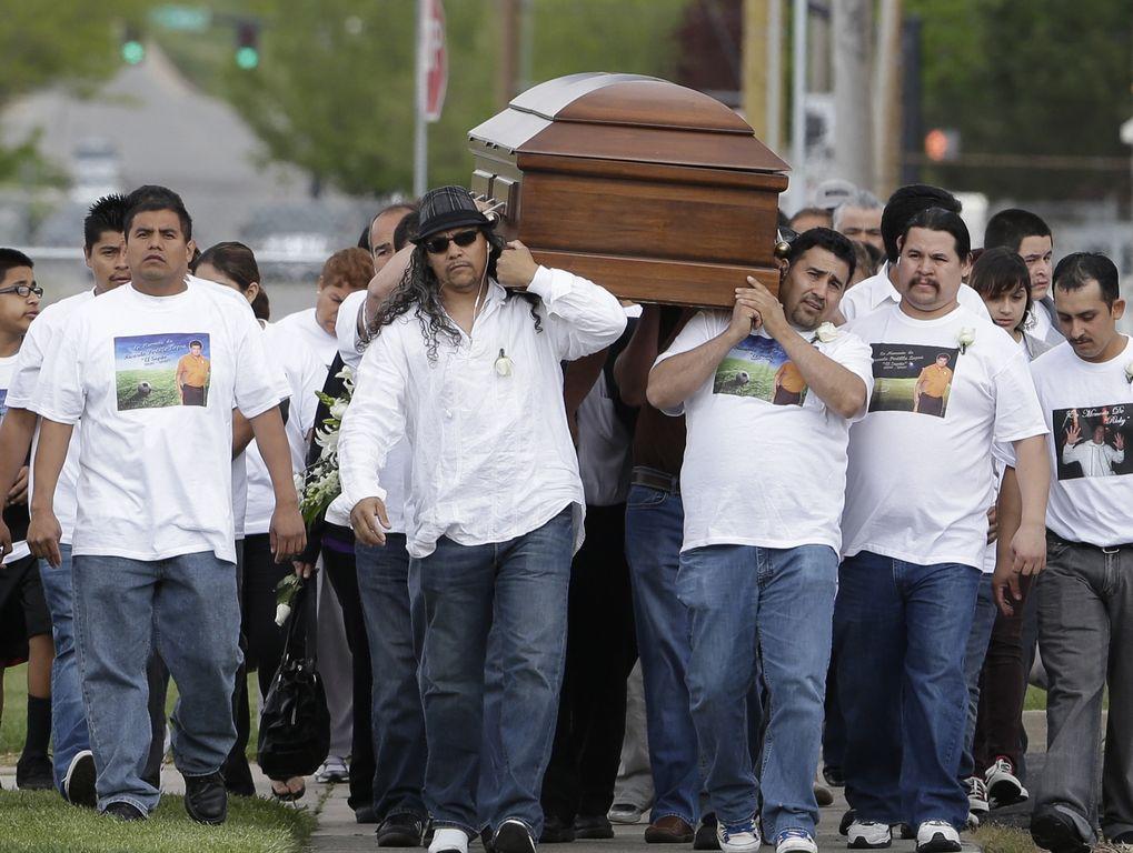 Ricardo Portillo falleció luego de pasar una semana en estado de coma, y fue sepultado el pasado mayo.