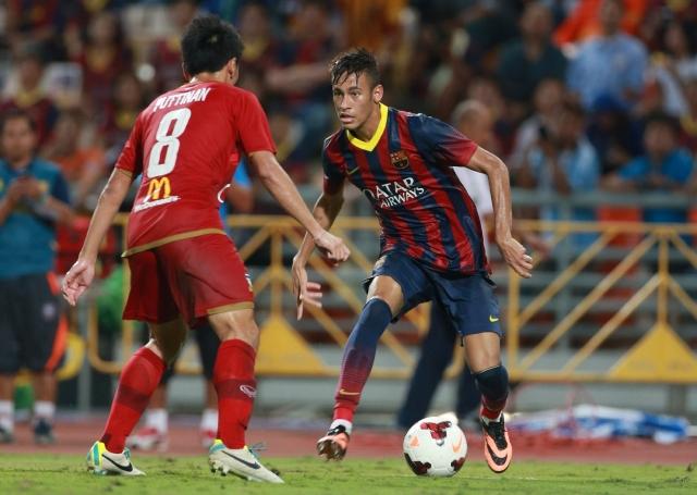 Neymar anota su primer gol