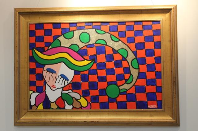 El circo inspira obra de pintor colombiano en NYC