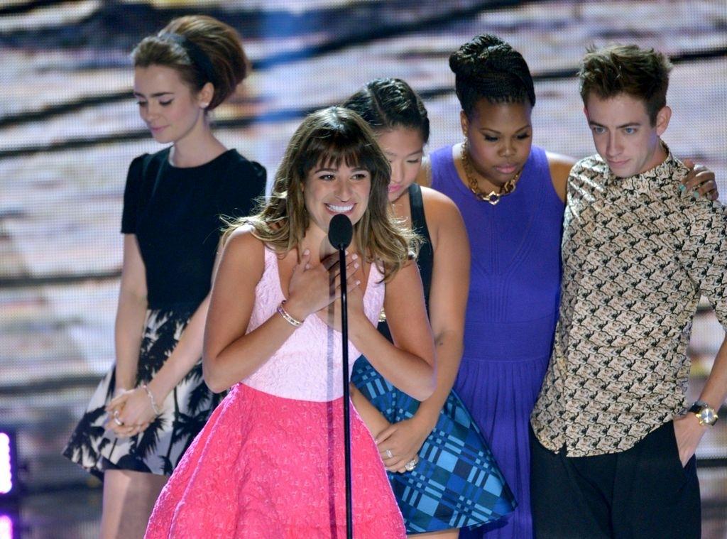 Lea Michele da testimonio de vida en los Teen Choice