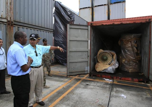 Misión de ONU  inspeccionará barco