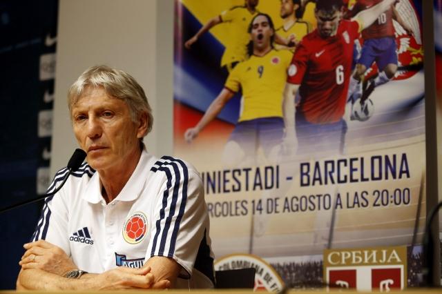 Colombia choca ante Serbia en fecha FIFA