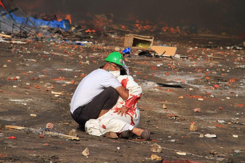 Sangriento amanecer en Egipto