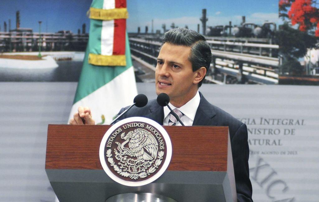 El presidente de México, Enrique Peña Nieto, lanzó campaña publicitaria a favor de la reforma energética.