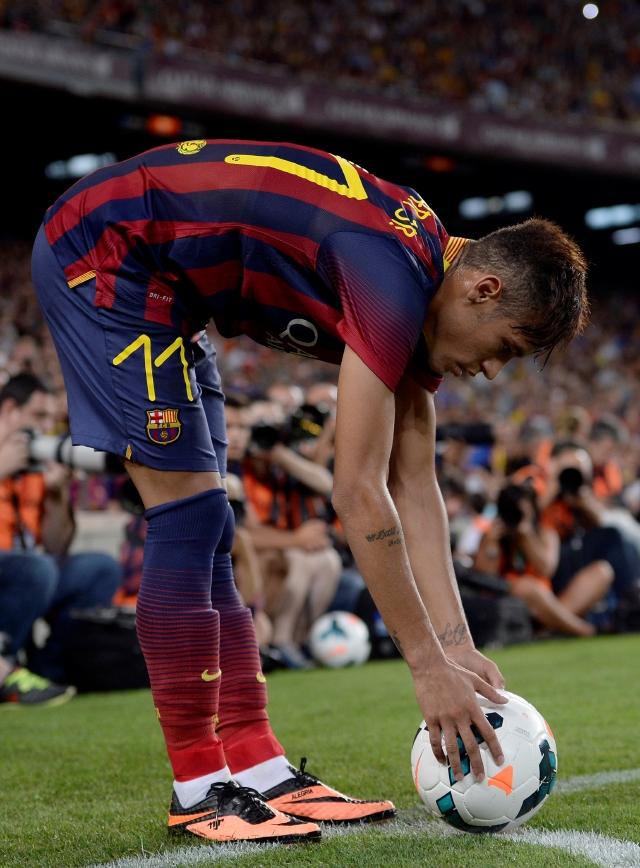 Neymar, la nueva inyección de sangre brasileña en el Barcelona.
