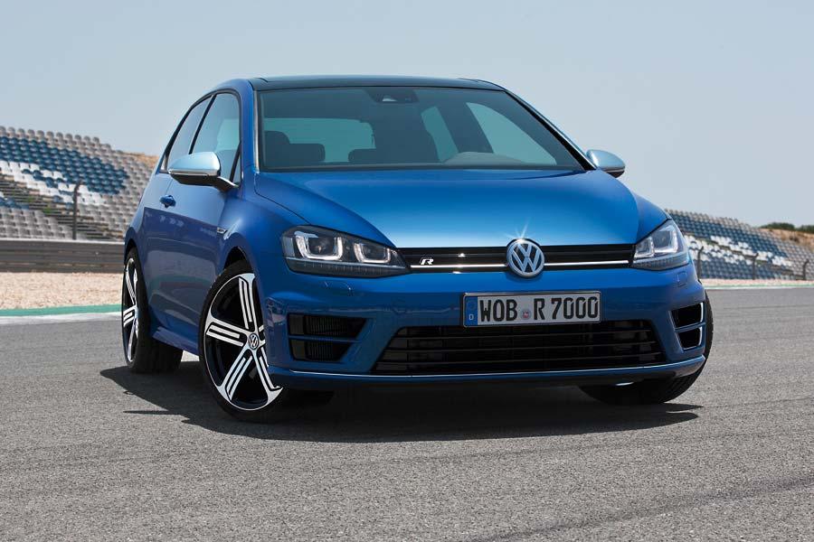 VW Golf R la variante más poderosa