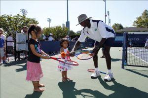 """""""Día de los Niños"""" en el Abierto de Tenis"""