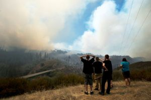 Hay 50 incendios en el oeste de EEUU (fotos)