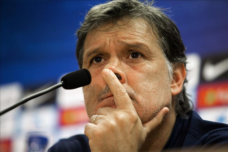 El entrenador del Barcelona, aseguró que el precio del delantero es excesivo.
