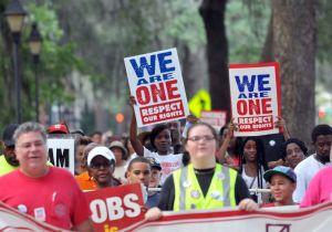 Comparan lucha de derechos civiles con inmigrantes en EEUU