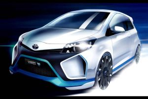 Toyota Yaris híbrido con aires de grandeza