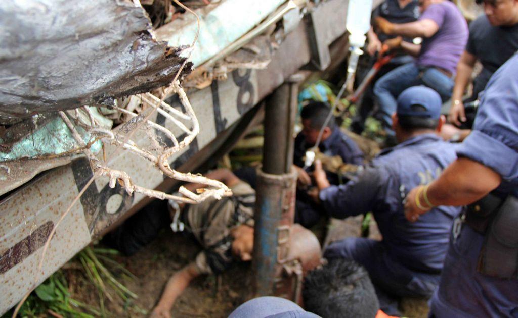 Grave accidente, pero nadie hace nada, ni en Centroamérica, ni en México, ni mucho menos en EE.UU.