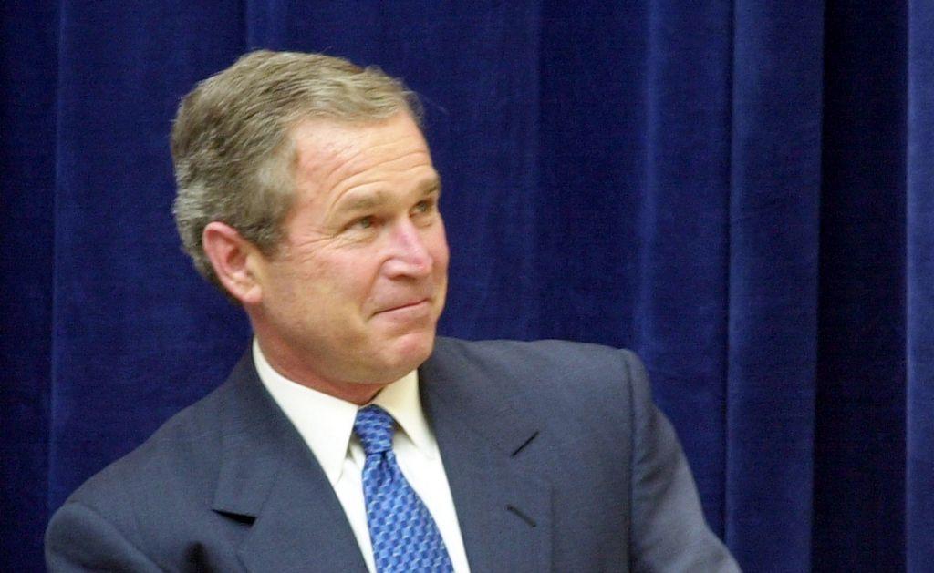 Bush afirma que el discurso de Obama no sería tan bueno como el de King.