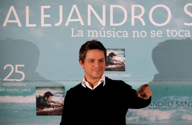 Alejandro Sanz llega a 10 millones en Twitter