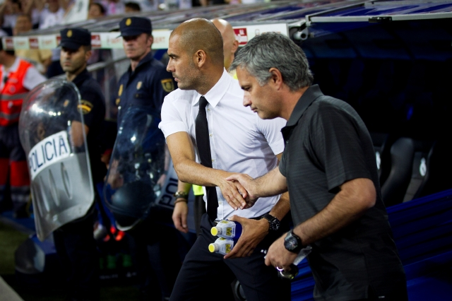 Revive  duelo Pep-Mou en Supercopa europea