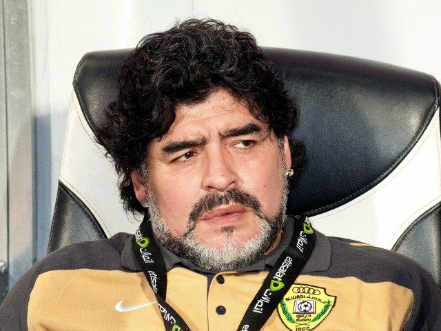 Maradona se postula como técnico del Boca Juniors