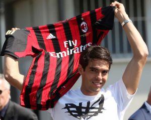 Kaká de vuelta en el  Milan