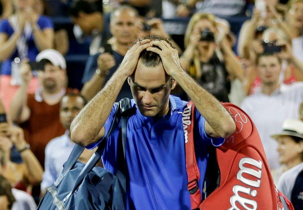 El suizo Roger Federer es eliminado del US Open (fotos)