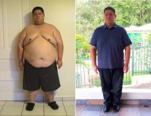 Latino pierde 230 libras ante amenaza de infarto