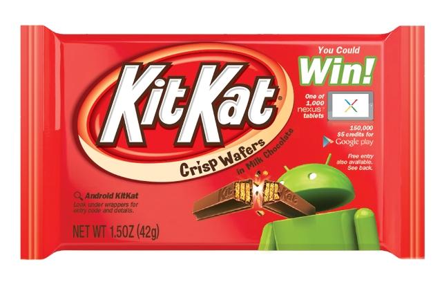 Nuevo móvil de Google se llamará Kit Kat (video)