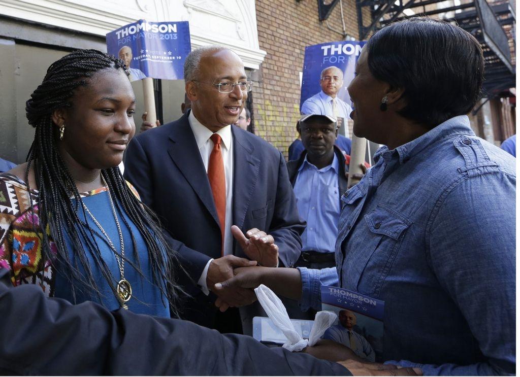 Un día con 5 candidatos a la Alcaldía de NYC (fotos)