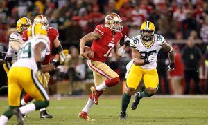 Packers vs. 49ers, la misión de detener a Kaepernick