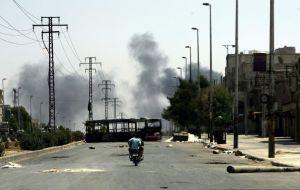 16 muertos deja ataque con obuses en Siria