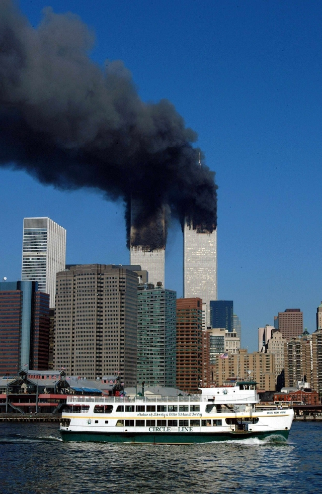 Las fotos secretas que te faltan por ver de los atentados del 9/11