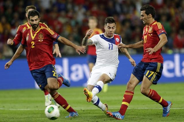 España le empata a Chile sobre la hora